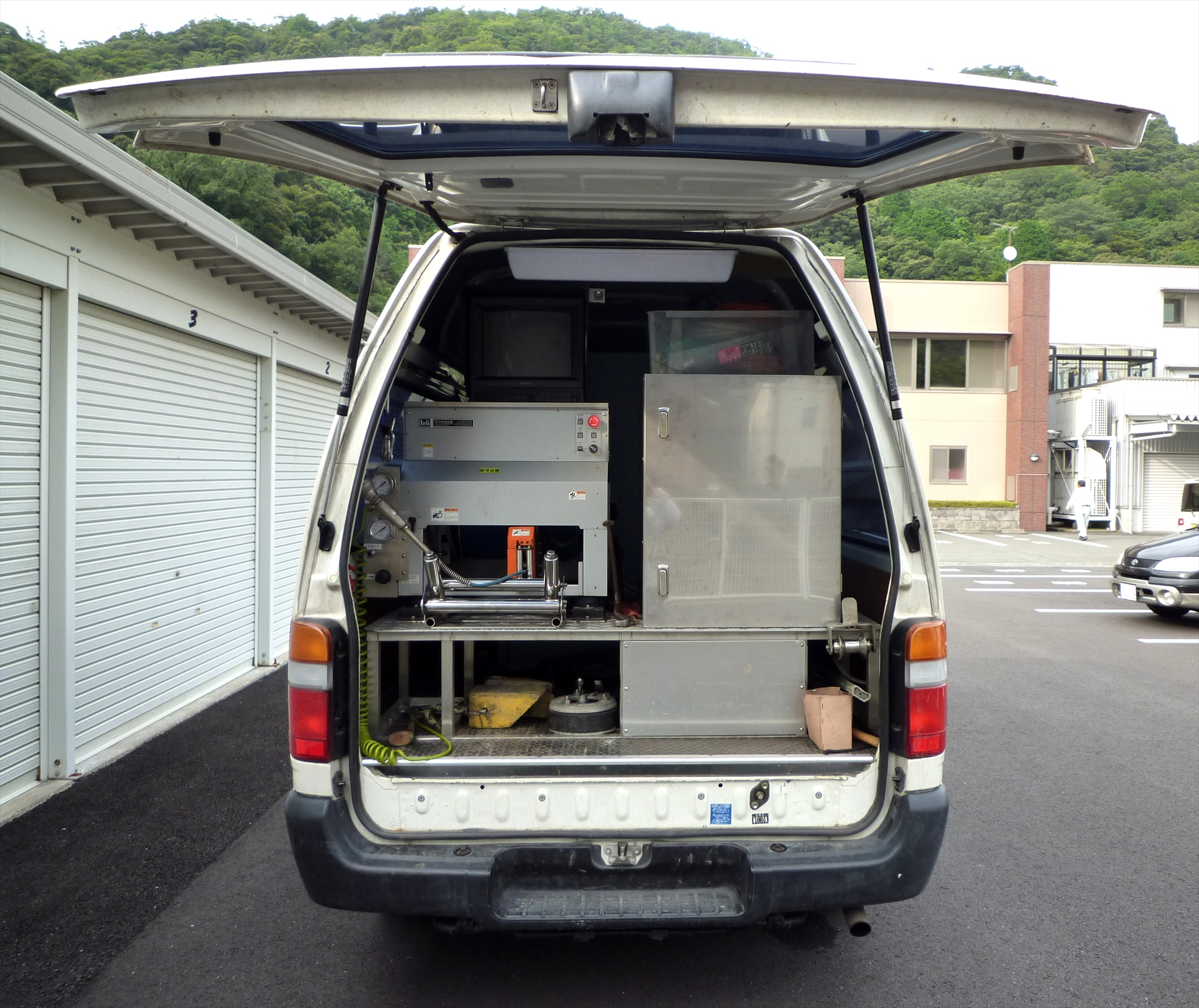 下水道管調査用TVカメラ車